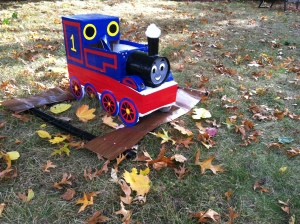 Thomas the Train Costume 2013